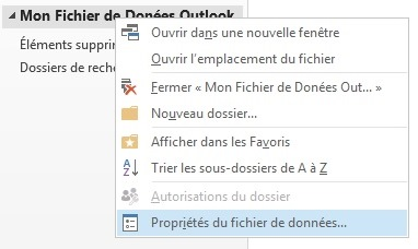 Depannage Informatique Outlook PST